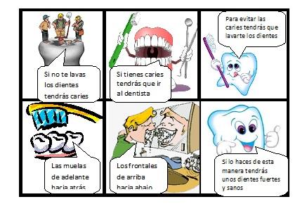 Dibujos de higiene bucal infantil - Imagui
